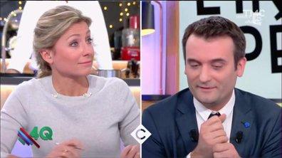 Les 4 Q - Le clash Anne-Sophie Lapix / Forian Philippot