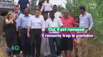 """Les 4 Q -  """"Macron, il est tout ramassé"""""""