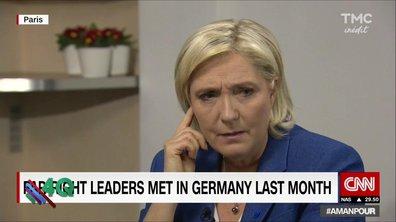 Le 4 Q -  Marine Le Pen perd son anglais !