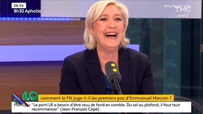 Les 4 Q - Marine Le Pen prend-elle des amphètes ?