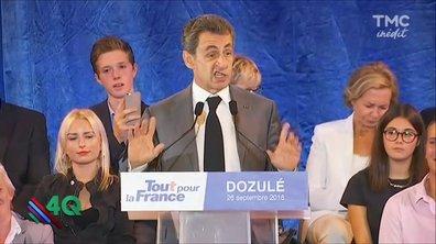 Les 4 Q : Nicolas Sarkozy veut parler à la France (rurale)