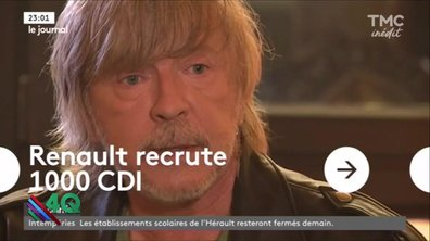Les 4Q : Bonne nouvelle : Renaud recrute !