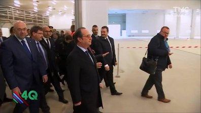 Les 4Q  - Quand Hollande visite une usine… vide
