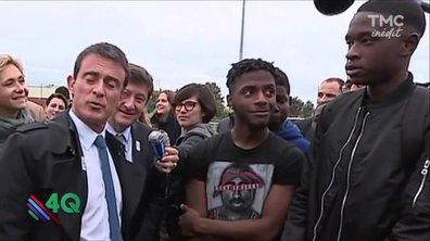 Les 4Q : Manuel Valls face à un mytho