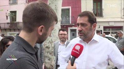 A Sète, Christophe Castaner refuse de voir la déception en face