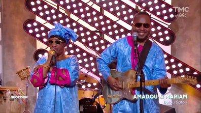 Amadou et Mariam : «Bofou Safou» en live sur Quotidien