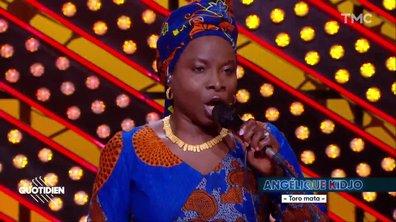 """Angélique Kidjo : """"Toro Mata"""" en live pour Quotidien"""