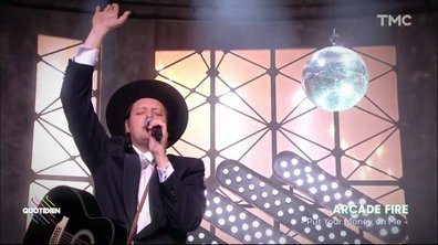"Arcade Fire : ""Put your money on me"" en live pour Quotidien"
