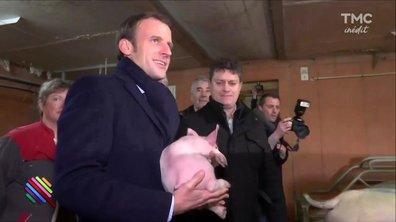 """Qui aura la Gaule ? - Macron en mode """"casser la voix"""""""