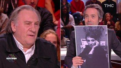 « Barbara c'est mon âme », « Adjani magnifique » … Les femmes de Gérard Depardieu