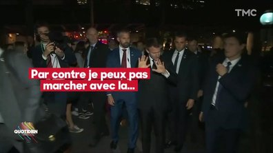 Breaking News – Emmanuel Macron refuse d'être dans la lumière