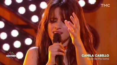"""Camila Cabello : """"Never be the same"""" en live pour Quotidien"""