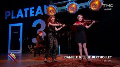 """Camille et Julie Berthollet - """"Czardas"""" de Vittorio Monti en live dans Quotidien"""