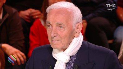 Interview : Charles Aznavour, ses amours, ses emmerdes...