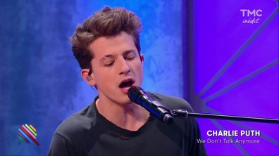 "Charlie Puth - ""We Don't Talk Anymore"" en live dans Quotidien"