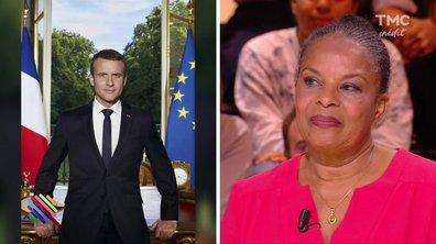 """Christiane Taubira n'aime pas tant """"la mise en scène"""" de la photo officielle d'Emmanuel Macron"""