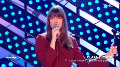 "Clara Luciani : ""La Grenade"" en live pour Quotidien"