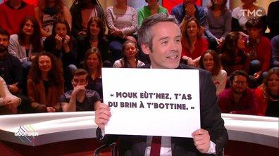 Dany Boon donne un cours de Ch'ti à Yann Barthès