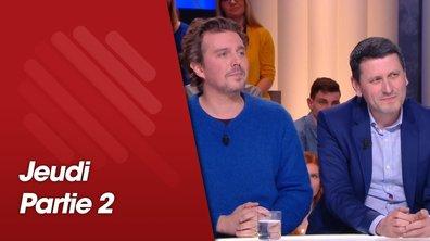 Quotidien, deuxième partie du 14 février 2019 avec Frédéric Martel et Alex Vizorek