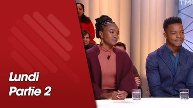 Quotidien, deuxième partie du 21 janvier 2019, avec Barry Jenkins, Kiki Layne, Stephan James et Fabrice Arfi