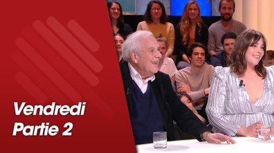 Quotidien, deuxième partie du 22 mars 2019 avec Philippe Sollers et Vendredi sur mer