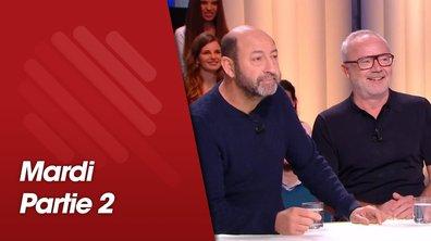 Quotidien, deuxième partie du 9 avril 2019 avec Allan Henry, Kevin Mayer, Kad Merad et Olivier Baroux