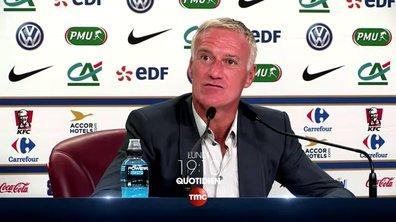 Didier Deschamps souhaite bonne chance à Quotidien