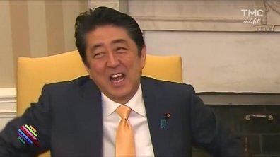 Le drôle de week-end américain du Premier Ministre japonais