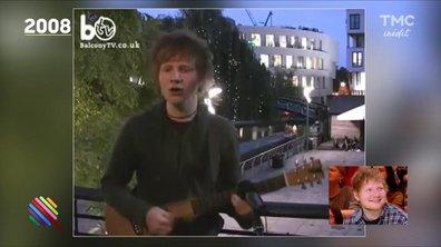 Ed Sheeran : sa première télé