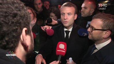 Emmanuel Macron : Immersion en banlieue