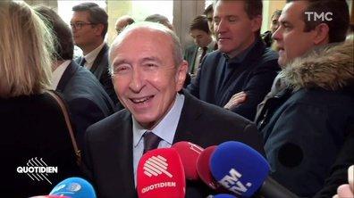 """Emmanuel Macron trop sûr de lui ? """"Plus il voit de maires, mieux c'est"""", assure Gérard Collomb"""