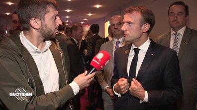 Entretien exclusif avec Emmanuel Macron : populisme, sens de l'histoire et Gaulois réfractaires