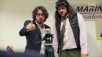 Eric et Quentin, les community managers de Florian Philippot