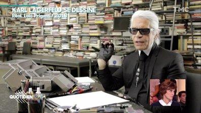 """""""Être enterré, quelle horreur ! Je ne veux pas de ça"""" : comment Karl Lagerfeld imaginait ses funérailles"""