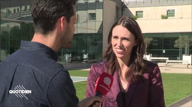 EXCLU - Rencontre avec Jacinda Ardern, première ministre néo-zélandaise