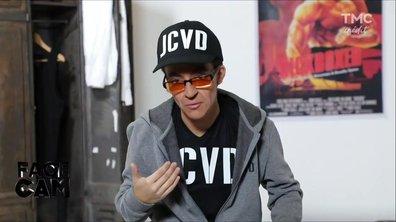 Face cam : Camille Lellouche se prend pour JCVD