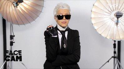 Face Cam : Camille Lellouche est Karl Lagerfeld