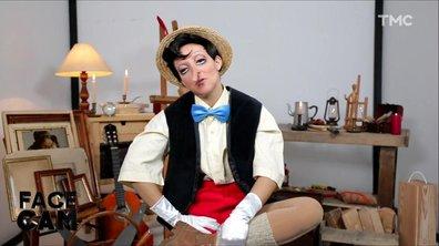 Face Cam : Camille Lellouche est Pinocchio