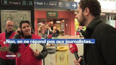 Fact-checking : les journalistes ont-ils été interdits de filmer dans les gares ?