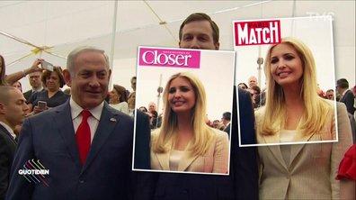 Le Fait du jour : Ivanka Trump, supermodel attitude à Jérusalem
