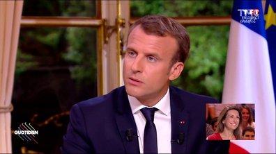 Fait du jour : l'interview de Macron décrypté