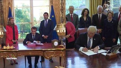 Fait du jour : Macron, tout sur la com'