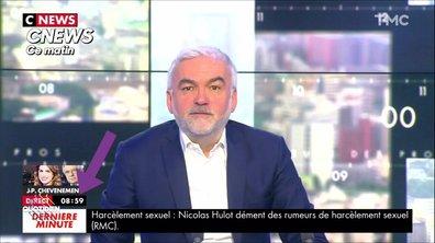 Le fait du jour – Nicolas Hulot : comment CNEWS spécule sur… rien