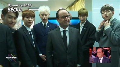 Le tour du monde de François Hollande