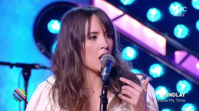 "Findlay - ""Waste my time"" en live dans Quotidien"