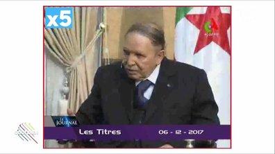 La force du montage autour de Bouteflika