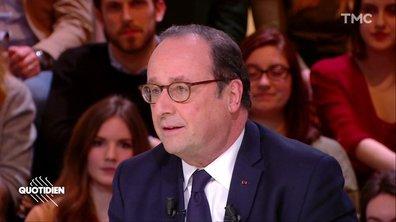 """François Hollande : """"Le risque pour l'Europe c'est l'arrêt, le statu quo"""""""