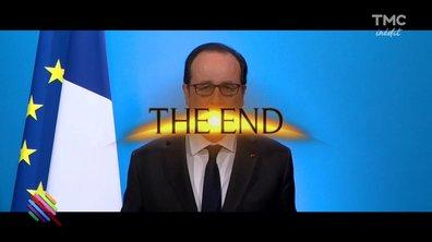 François Hollande soigne sa sortie ... en musique