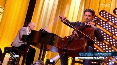 """Le violoncelliste de Notre-Dame, Gautier Capuçon : """"Après un rêve"""" en live pour Quotidien"""
