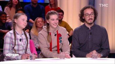 Invités : Greta Thunberg, Adélaïde Charlier et Martial Breton, les jeunes qui s'engagent pour le climat